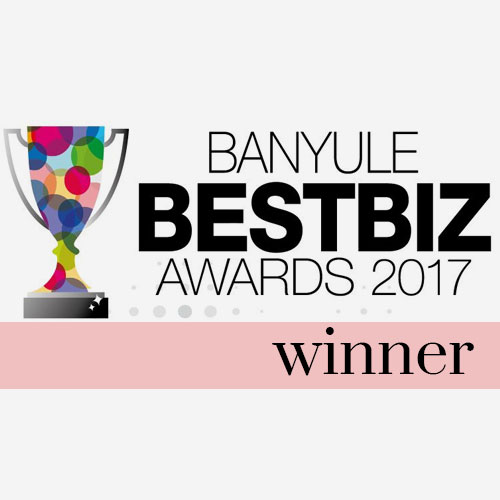 banyule best biz awards winner 2017 | kimmy rose hair studio