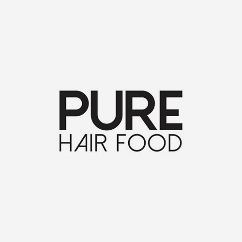 pure hair food logo | kimmy rose hair studio